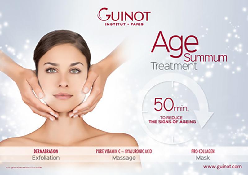 Guinot age summum skin care Dubai